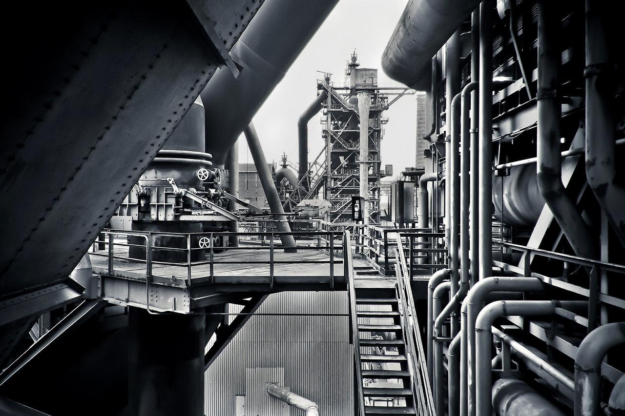 Rör på industri